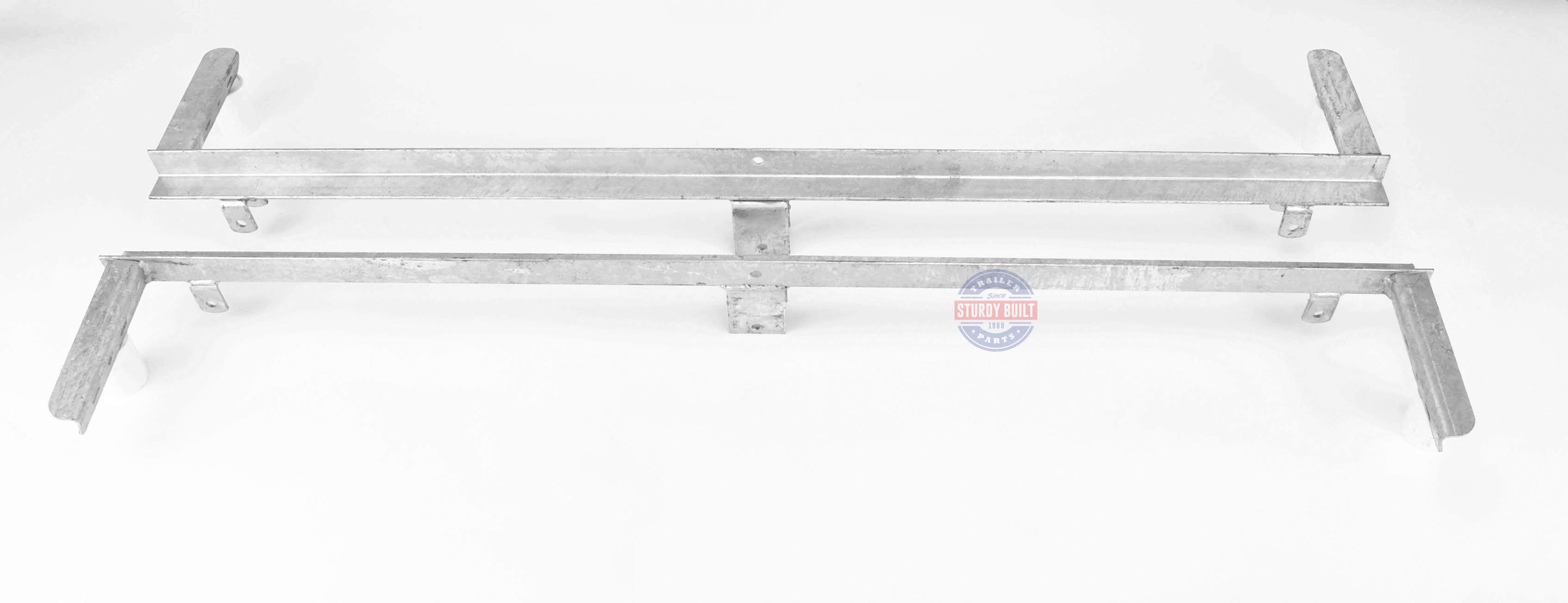 boat trailer single or dual axle gm radio theft lock leaf spring slider tandem pair for 25 1