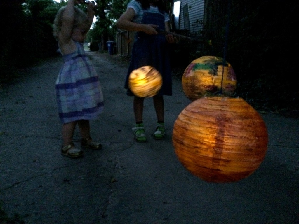 Painted Lanterns Moonlight Lantern Walk Sturdy For Common Things