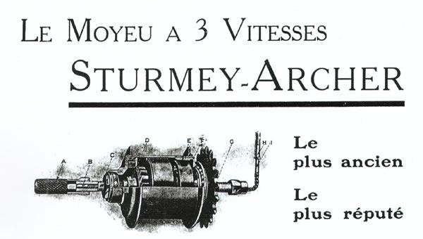 Sturmey-Archer Heritage :: History