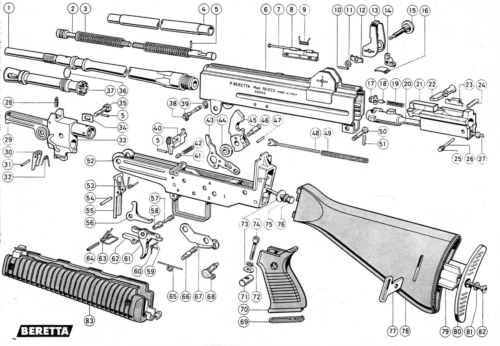 m16 exploded diagram pull up muscles worked ar 15 schematic free engine image for user