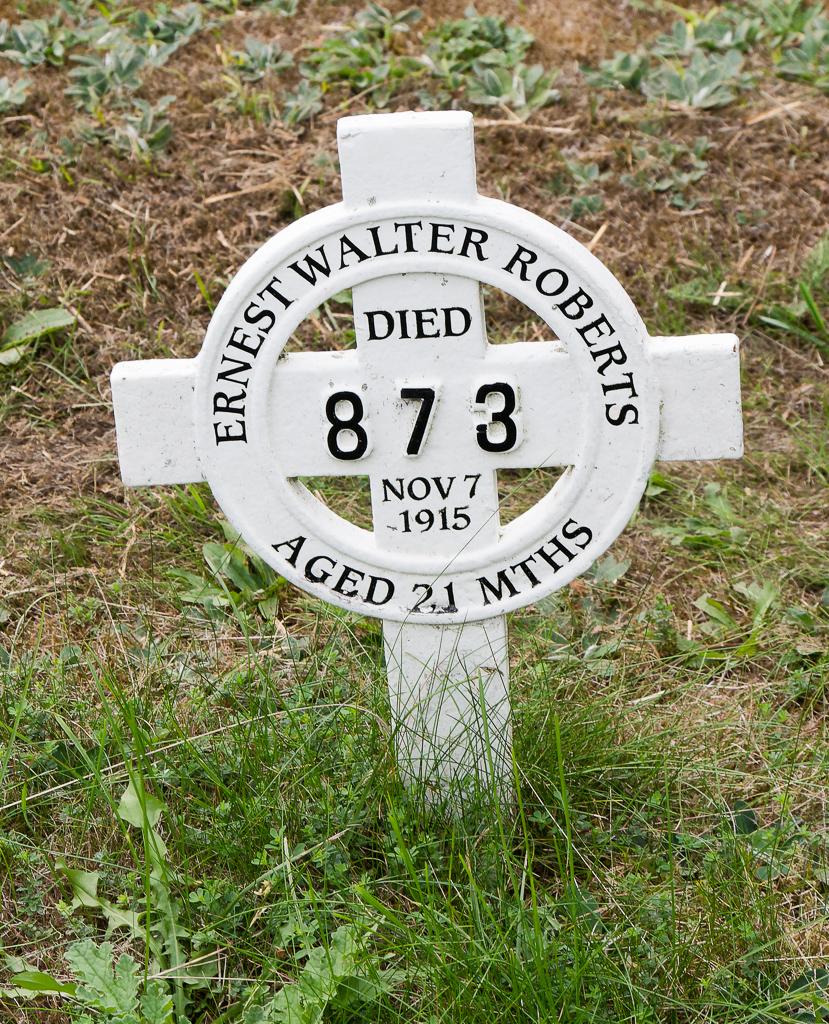 Ernest Walter Roberts 1915