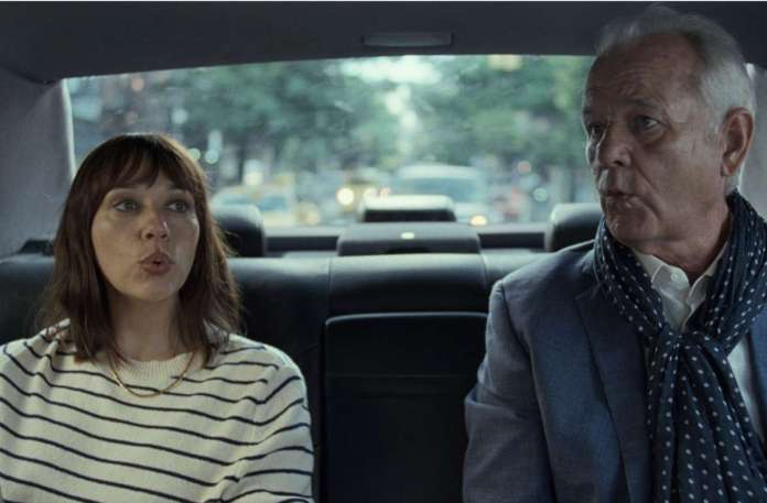 Common pipes connects people: Rashida Jones and Bill Murray as daughter and father in
