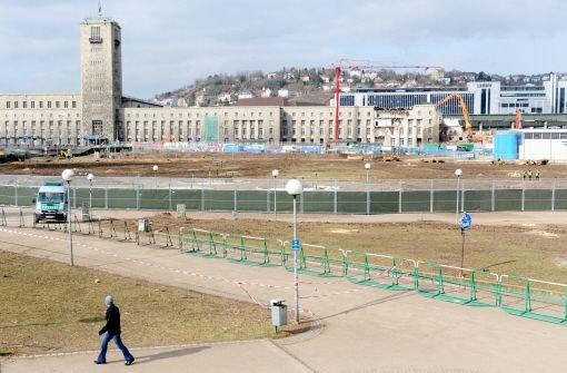 Bald ist der Mittlere Schlossgarten in Stuttgart kein Sperrgebiet mehr Foto: dpa