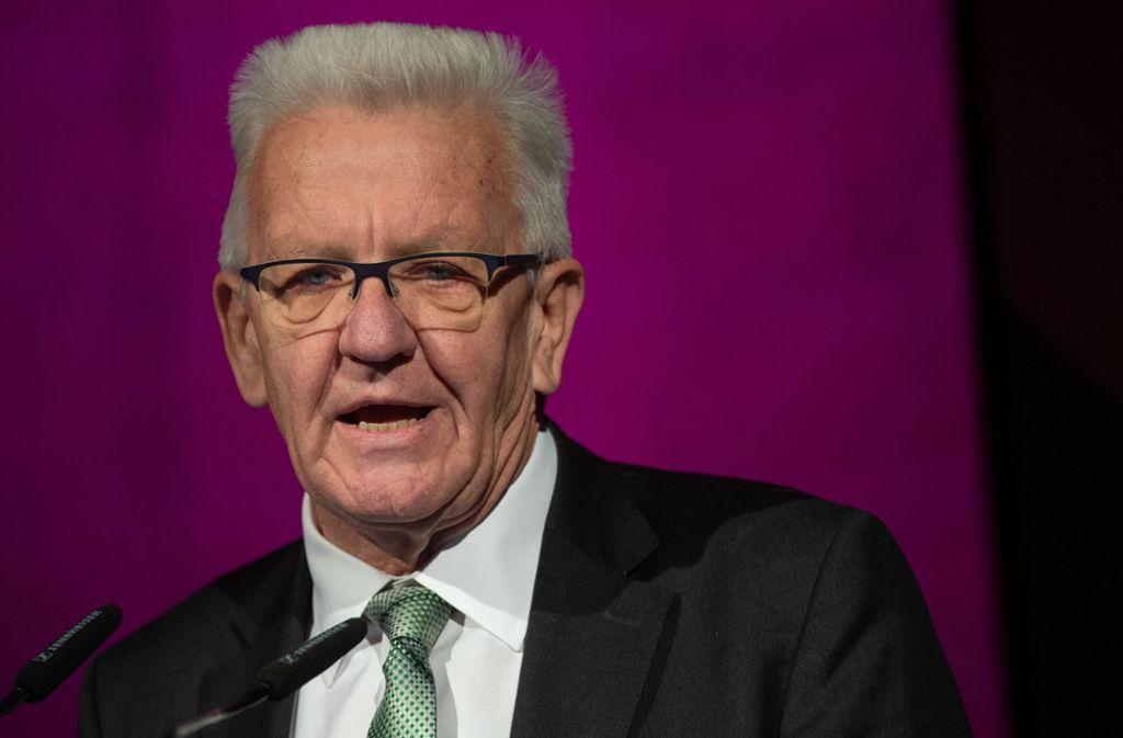 winfried kretschmann ministerprasident
