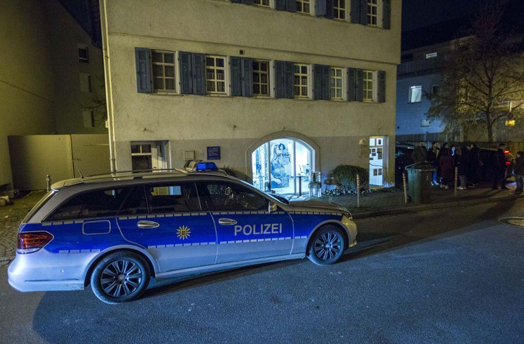 Pleidelsheim im Kreis Ludwigsburg Messerstecherei in