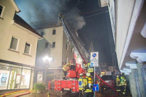 Bietigheim im Kreis Ludwigsburg Schweinebacke auf Herd lst Brand aus  Ludwigsburg