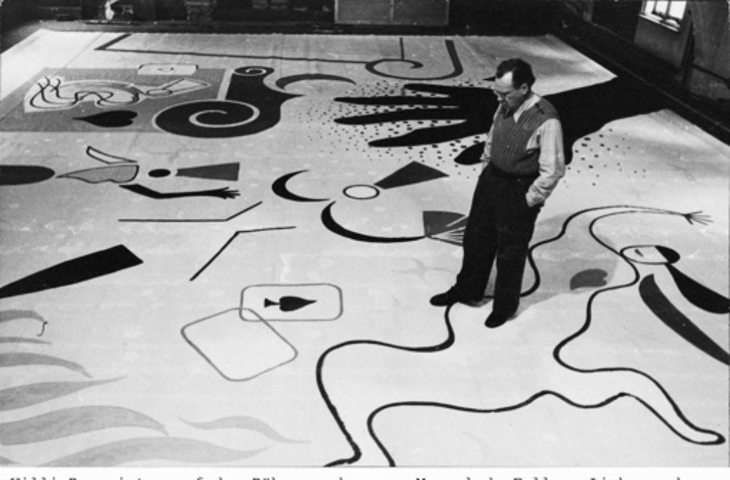 Stuttgarter Maler Willi Baumeister zum 125 Geburtstag