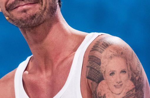 helene tattoo von florian silbereisen