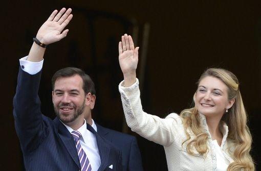 Hochzeit in Luxemburg Guillaume und Stphanie haben Ja