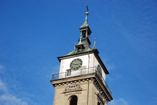 Bis zum Sommer kommen samstags Gastredner in die Stadtkirche. Foto: Ulrike Koch