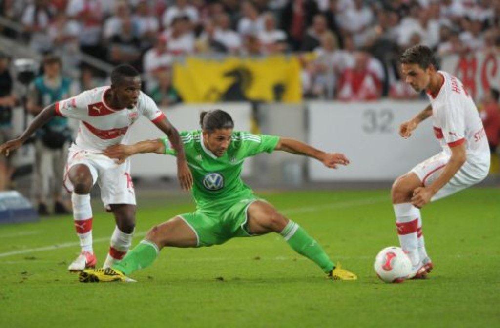 Auch nach der Niederlage gegen die Bayern bricht beim VfB