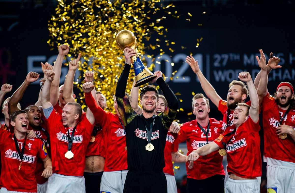 handballer feiern titel bei der xxl wm