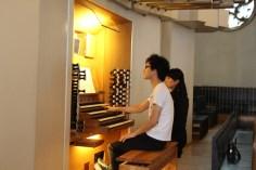 Organist, einmal sichtbar gemacht :-)