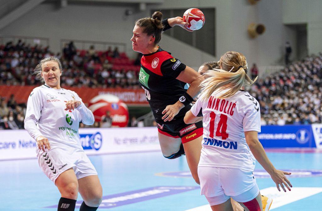 handball wm der frauen deutsche