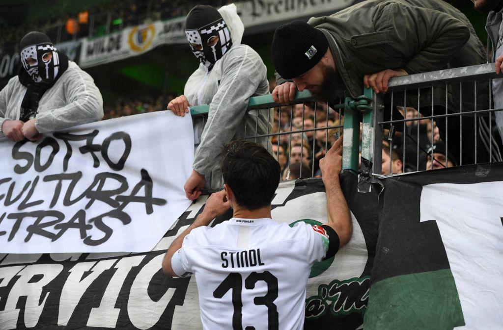 gladbach fans beleidigen hopp