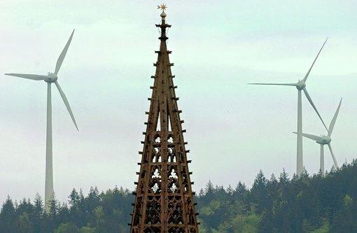 Freiburg setzt auf Windkraft Foto: dpa