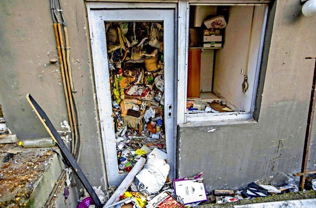Vermllte Wohnungen in Stuttgart Ein Messie nimmt Haus