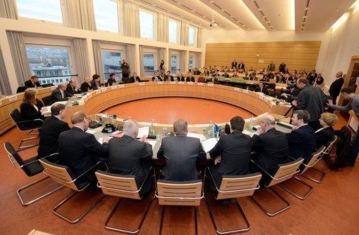 Im  NSU-Untersuchungsausschuss schließt Heino  Vahldieck, Mitglied der Bund-Länder-Kommission Rechtsterrorismus, ein Systemversagen der Behörden  aus. Foto: dpa