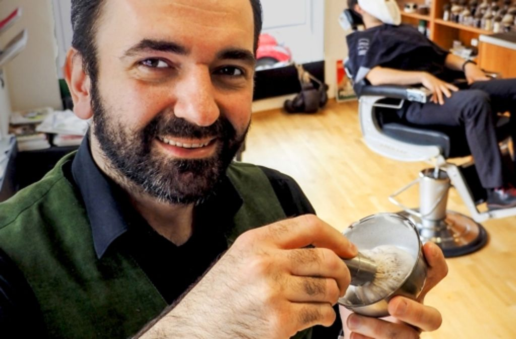 Barbier in StuttgartWest Ein Salon nur fr Mnner  Stuttgart  Stuttgarter Zeitung
