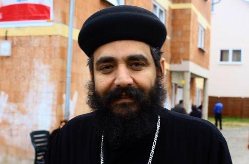 Pater Johannes Ghali sorgt sich um seine Verwandten in Ägypten. Foto: privat