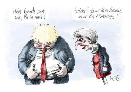 Karikatur vom 30.03.2018