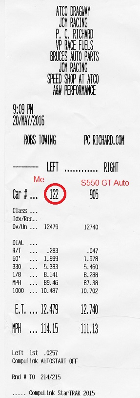 2017 Paxton Charged S550 Auto GT 10.304@137.51! vs. Bolton