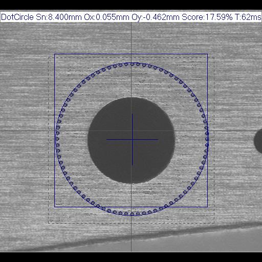 IVS Messung Kreis gepunktet