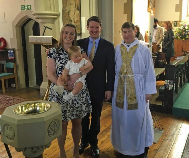 William's Baptism 24 April 2016