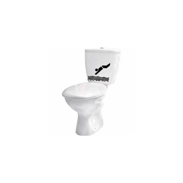 Vinilo Decorativo Cisterna WC
