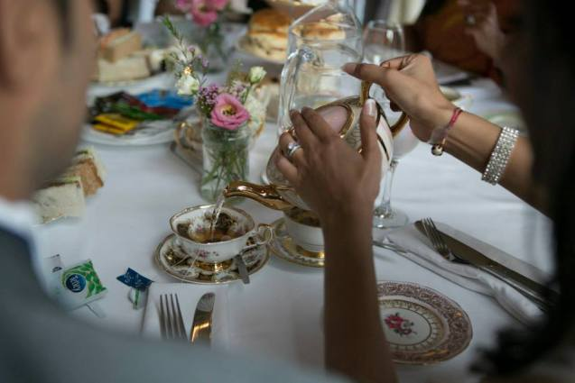 Success Story: Bride Swaps Classroom Stationery for Vintage Crockery