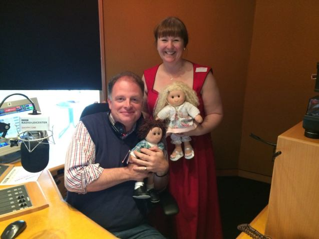 Ruth From Dress-A-Doll Tells Her Story Live On Air