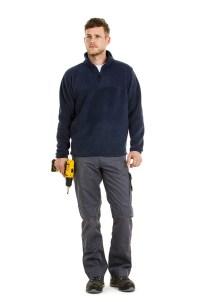 Veste polaire associe confort et protection