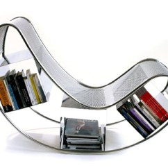 Types Of Rocking Chairs Wheelchair Marathon For Book Lovers The Style Files Designed By Pucci De Rossi Dondola Is A Chair That Combines Clean Lines And Curvaceous Shapes Stainless Steel Structure Made Two
