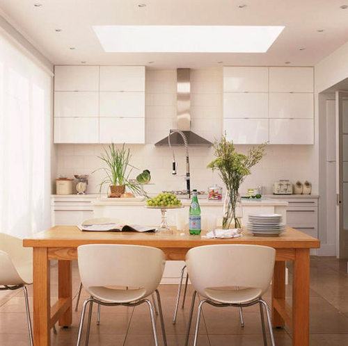 White Kitchens Amp Dining Areas THE STYLE FILES