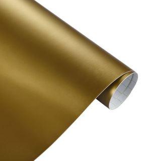 gold matt Folie Autofolie