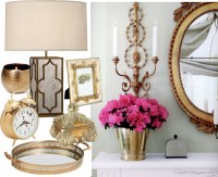 2013 home decor trends + brass home accents 2013   StyleAble
