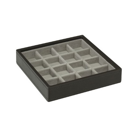 Mink stackable criss cross tray
