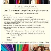 New Colour Yourself Confident Workshop Hertfordshire/ London Area