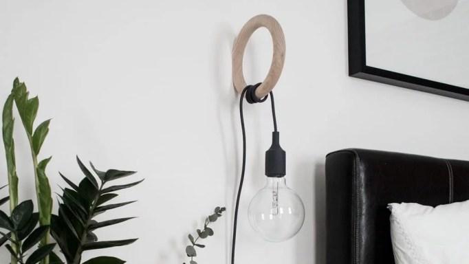 COSxHAY Gym Hook & Muuto E27 Bedside Lamp