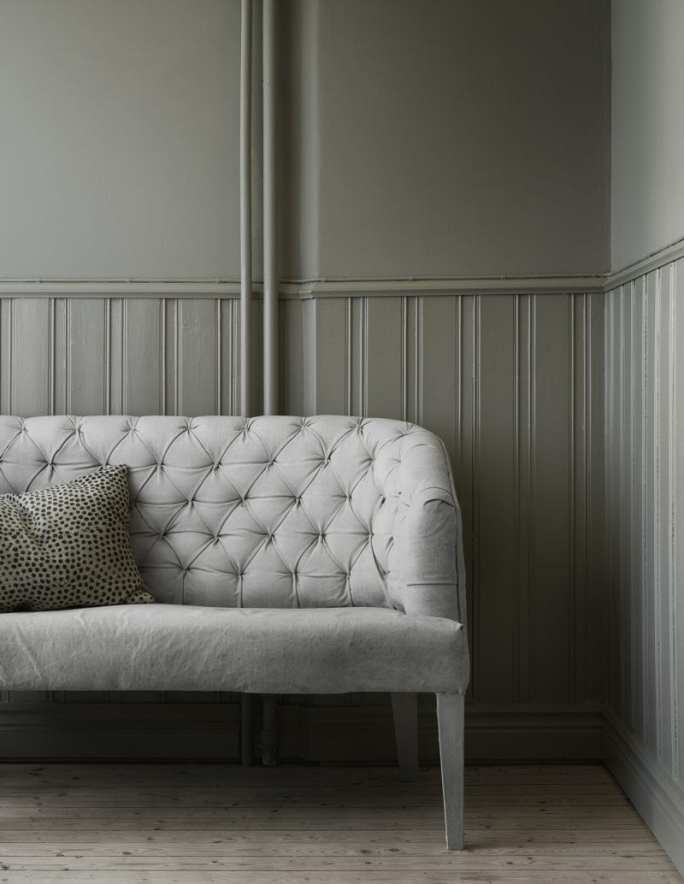Pale Grey Sofa | Home of Artilleriet's Owners