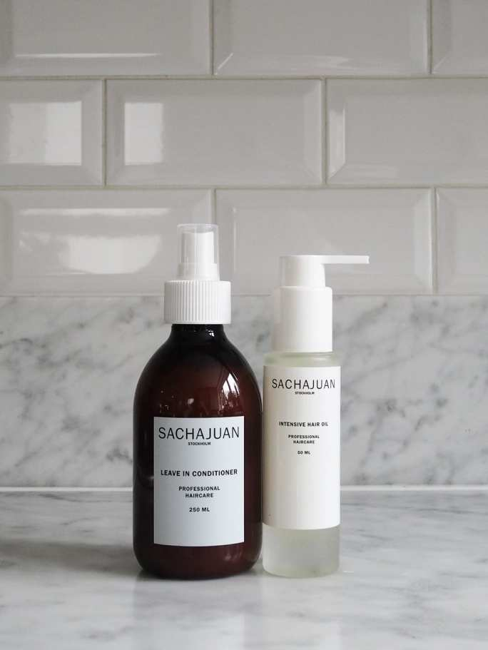Sachajuan haircare for dry hair