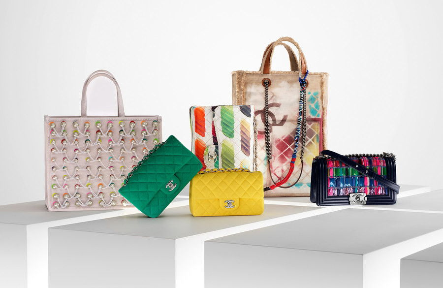 Chanel bags, bag, purses, spring summer 2014 collection