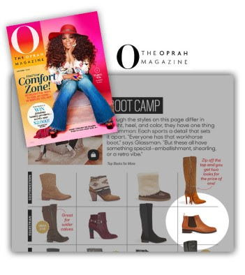 Vionic Boots, feature, O Magazine, Oprah