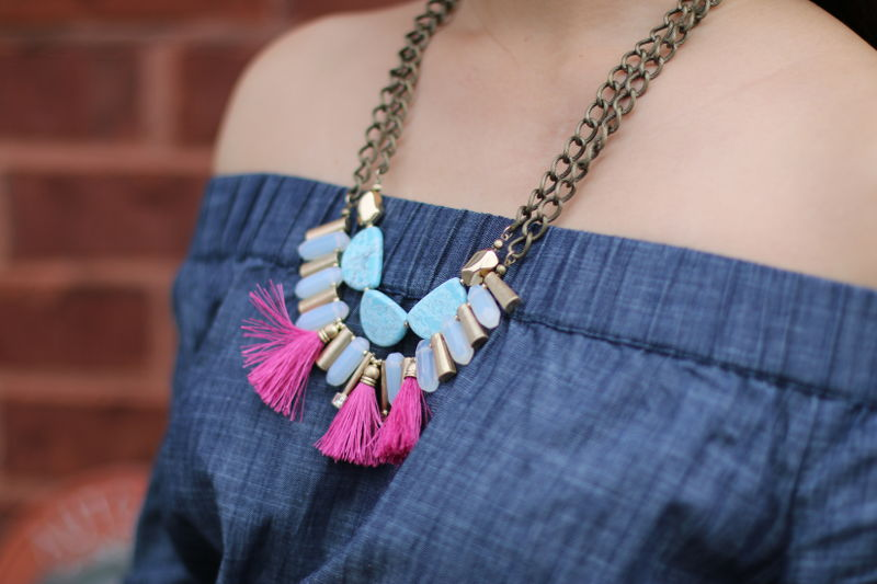 Lydell NYC necklace, jewelry