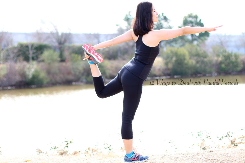 12 Ways to Deal with Painful Periods, yoga, stretching