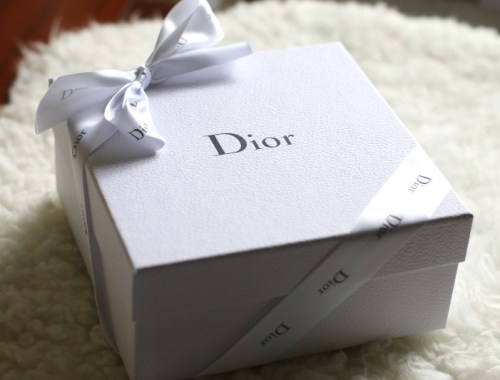 House of Dior, gift box, Rouge Dior, makeup