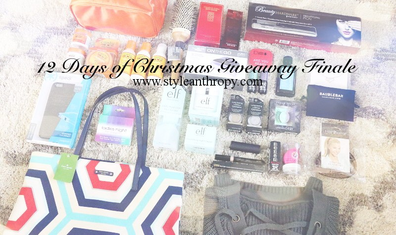 12 Days of Christmas Giveaway, contest, sweeps