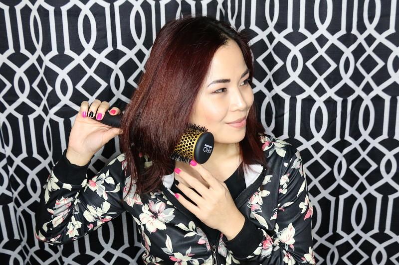 soft romantic curls, beauty pro tools, hair brush