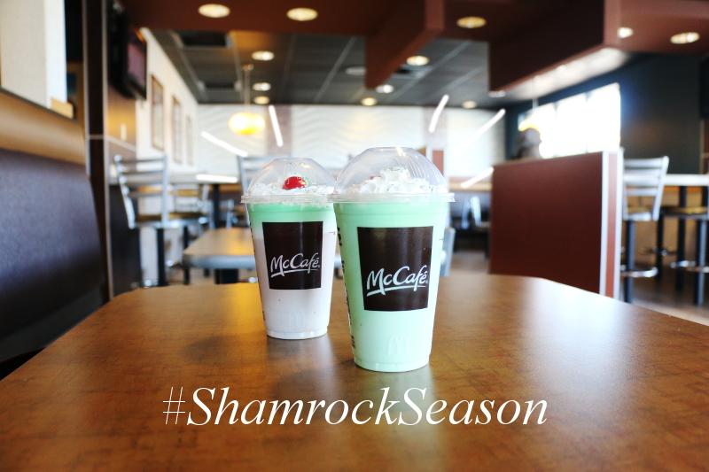 McDonalds Shamrock Shake Season