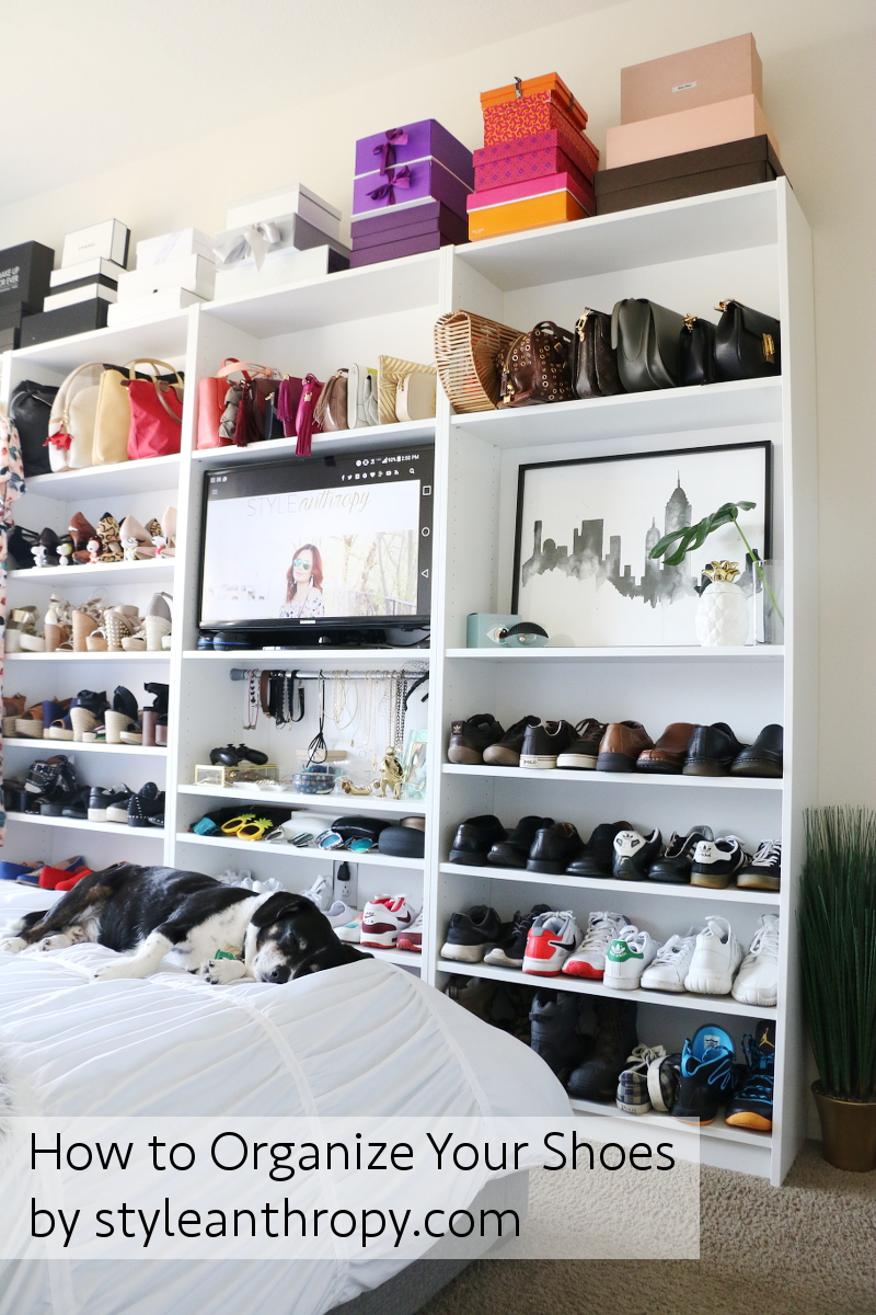 How To Organize Your Shoes, DIY Shoe Closet